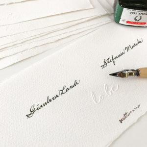 Inviti-intestazioni-scritto-a-mano-amalfi-inchiostro-pennino-rilievo