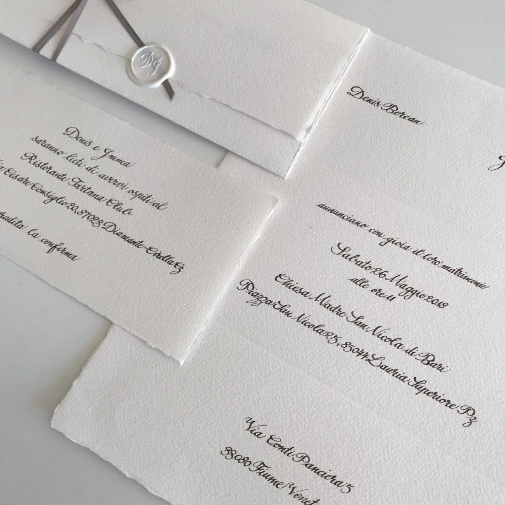 Partecipazioni Per 25 Anni Di Matrimonio.Partecipazioni D I Labc La Bottega Creativa
