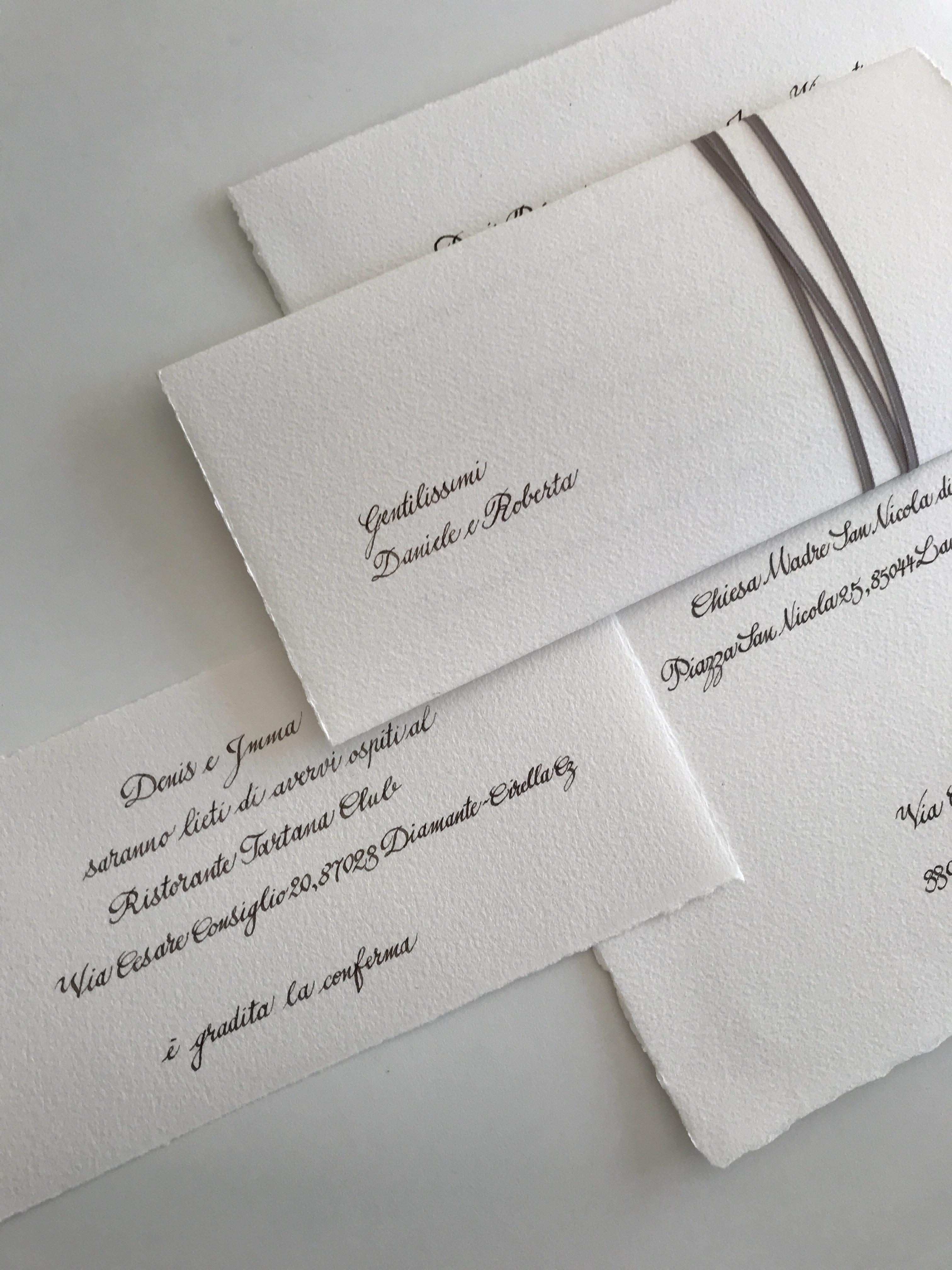 Intestazione Partecipazioni Matrimonio.Partecipazioni D I Labc La Bottega Creativa
